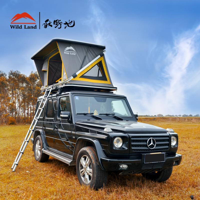 全自动无线遥控车顶帐篷